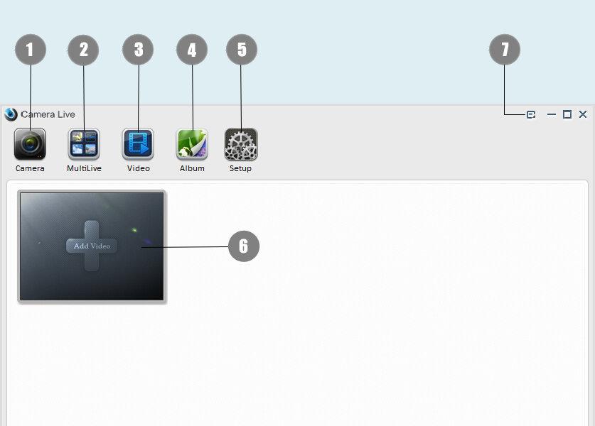 Camera Live, a PC software of ip camera | Titathink