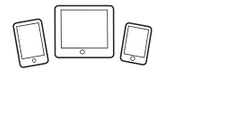 iOS devices and Android devices