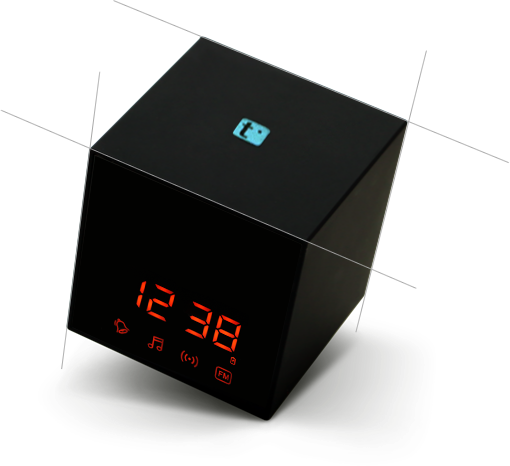 TT532PRO - Wireless Hidden Radio Bluetooth Clock IP Camera