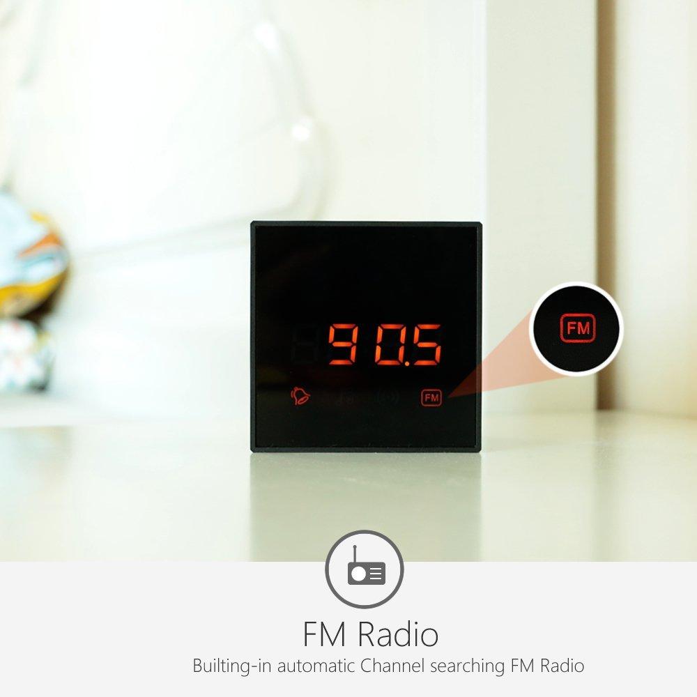 Titathink wireless FM radio bluetooth clock camera TT532PRO