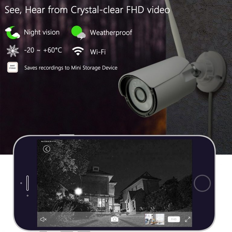 titathink home security cameras night vision