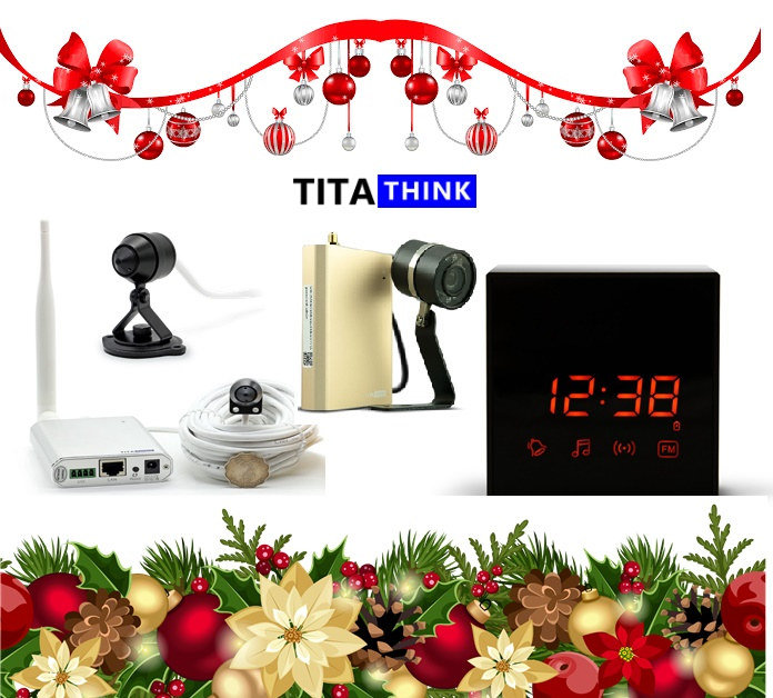 Hidden Security Cameras for Christmas